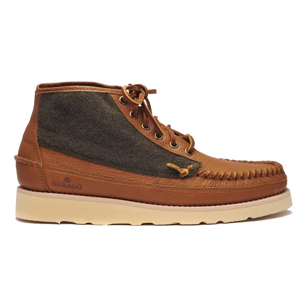 Sebago SENECA Mid Wool Brown Tan Campsides