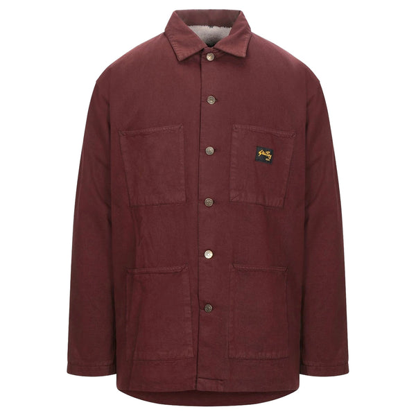 Stan Ray LINED SHOP JACKET Coffee Brown
