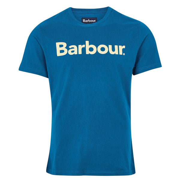 BARBOUR Logo T-Shirt Lyons Blue