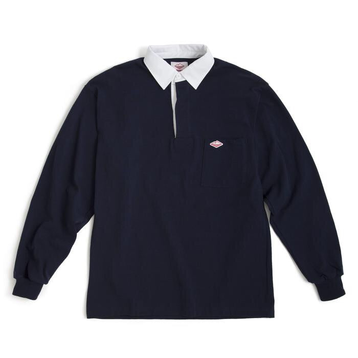 BATTENWEAR Pocket Rugby Shirt, Navy 6oz Jersey
