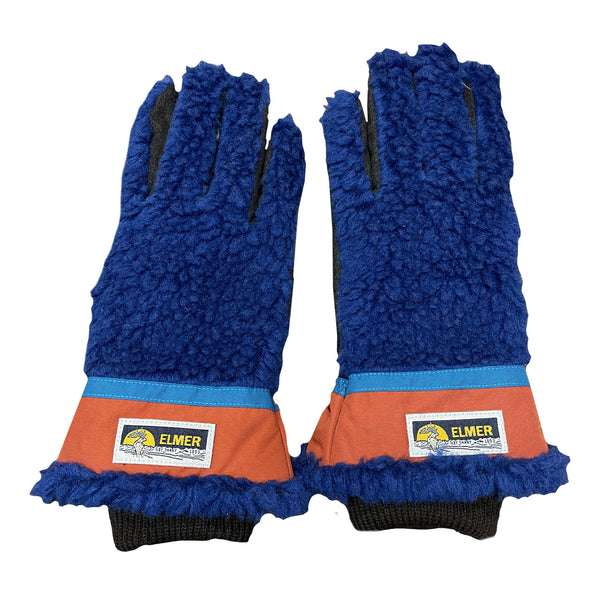 Elmer Gloves Wool Pile 5 Finger Blue EM353