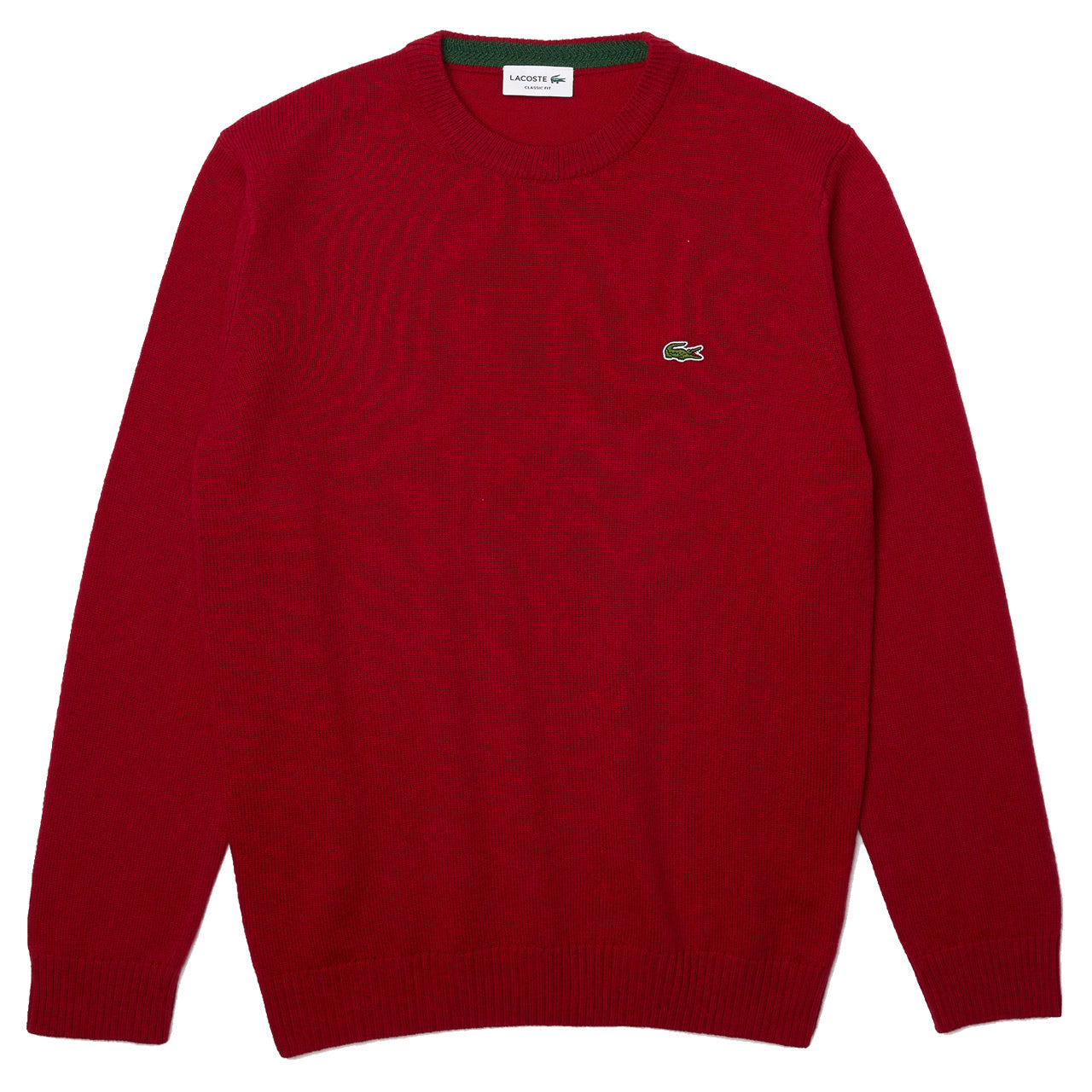 Lacoste Wool Sweater Pullover Bordeaux AH1988