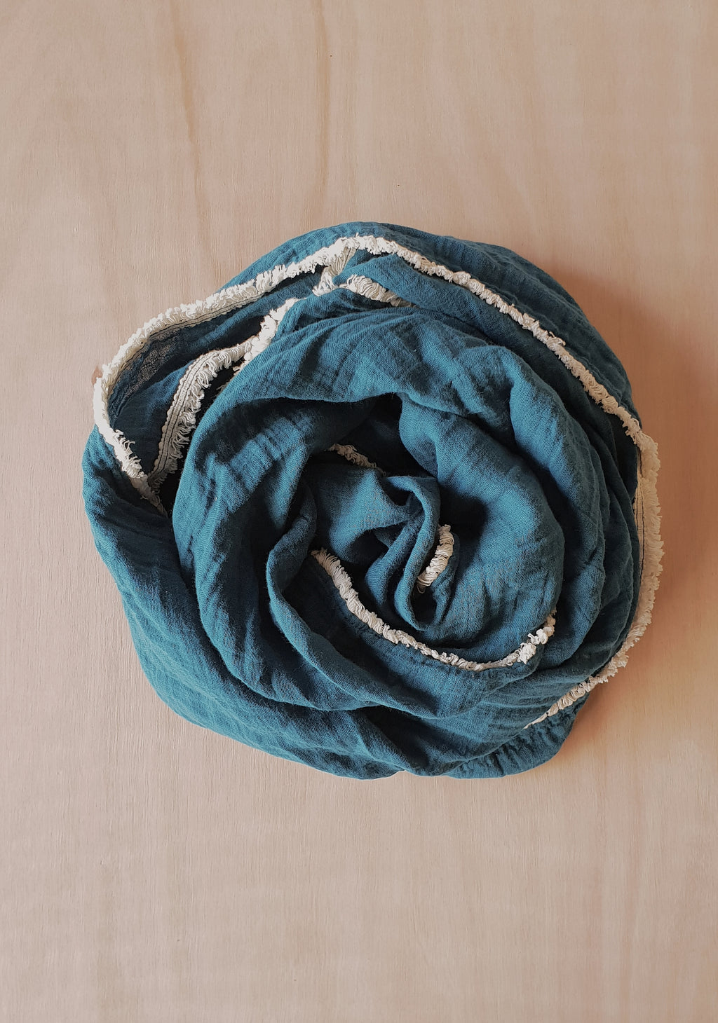 *PRE-ORDER* Organic Cotton Muslin Wrap with tassel – Casablanca Tides