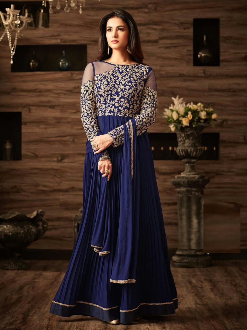 ROYAL BLUE MAXI