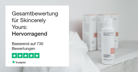 Skincerely Yours Trustpilot Bewertung