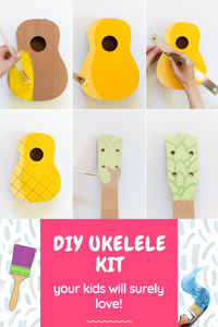 DIY Ukulele Kit (Everything Included!)