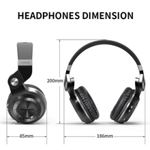 Bluedio T2S Wireless Bluetooth 4.1 Headphone With Microphone
