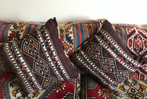 Anatolian Handwoven Pillowcase - Natural Colours - Early 1910's