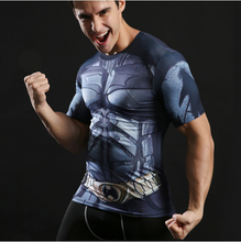 Black Friday Special ! Superman & Batman Fitness T-Shirt - Type 3 / S
