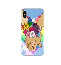 Silicone LGBT Pride Rainbow Phone Case for Iphone 6/6s, 6/6S Plus, 7, 7 Plus, 8, 8 Plus, X, XS, XS Max, XR