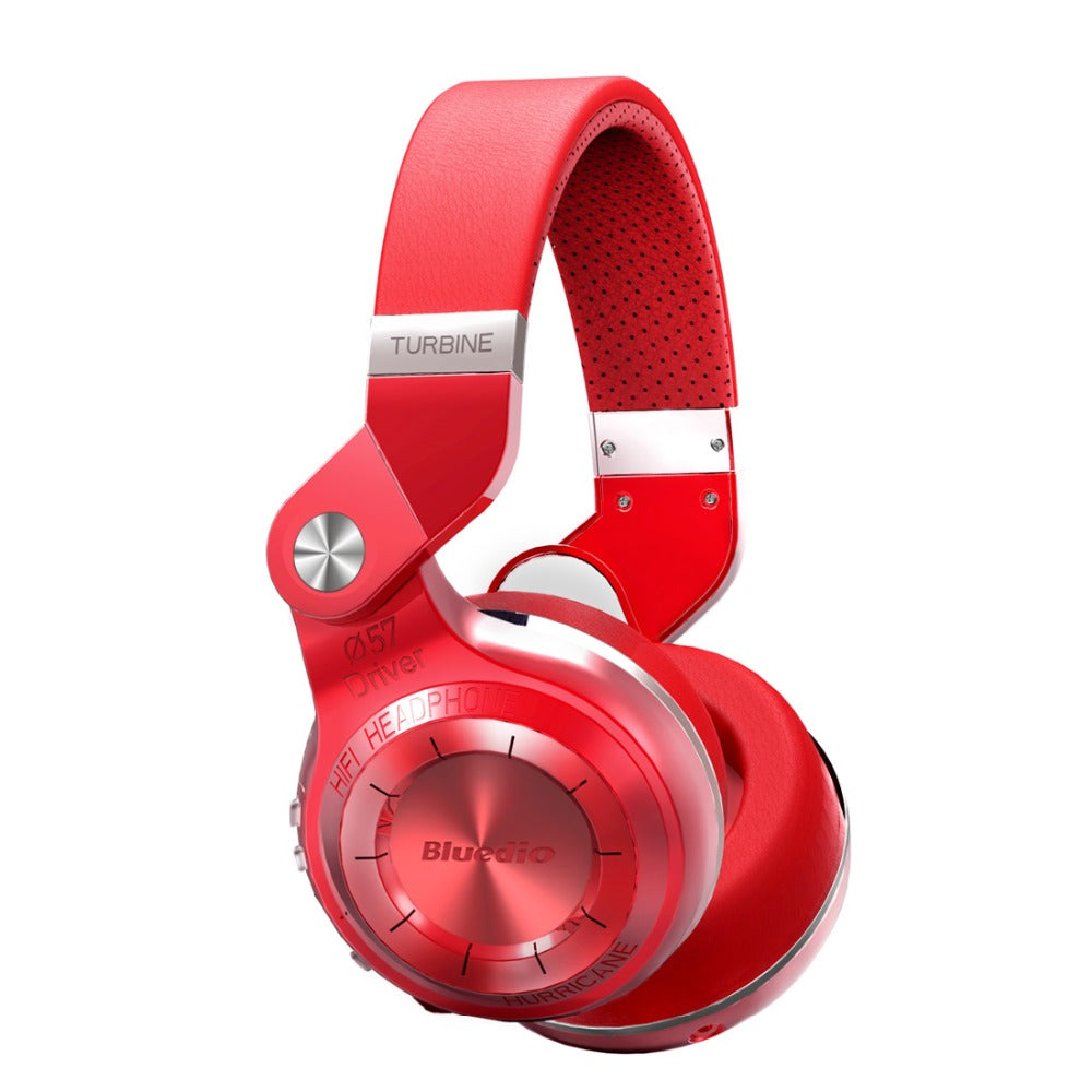 Bluedio T2S Wireless Bluetooth 4.1 Headphone With Microphone Red / United States