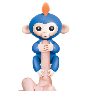 *limited Stock - Interactive Baby Finger Monkey Blue-Boris