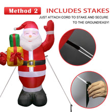 Giant Airblown Inflatable Santa Claus Christmas Decoration