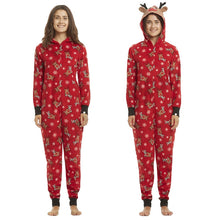 Christmas Pajamas With Hoodies Set for Family