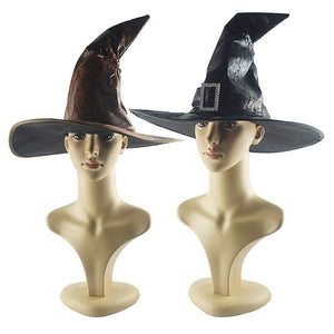 Halloween Wizard Witch Party Hat