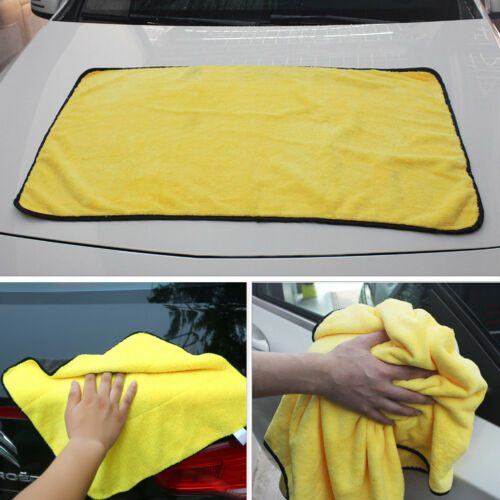 Large Size Car Absorbent Wash Microfiber Towel Cleaning Drying Cloth Super Soft