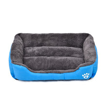 Orthopedic Sherpa Pet Bed Blue / Xl