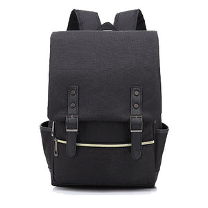 Canvas Backpack Black