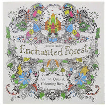 24 Pages -  Coloring Book For Children & Adult - Enchanted Forest - English Edition