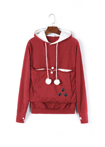 Carry Your Cat Everywhere! - Hoodie Red / S