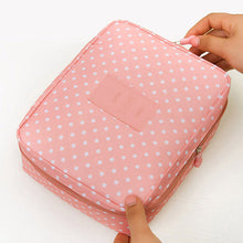 Makeup & Cosmetic Organizer Bag Spotty Pink