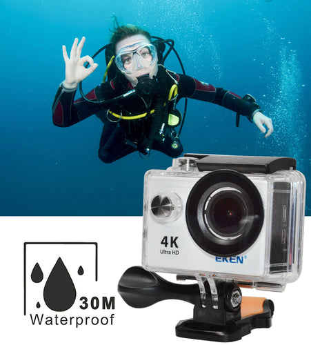 H9R Action Camera Bundle Ultra Hd 4K 30M Waterproof