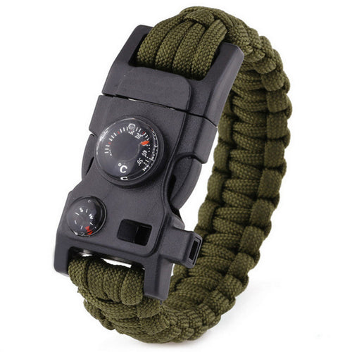 15 in 1 Multi Functional Paracord Survival Bracelet