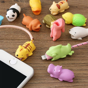 Cute Animals Cable Bite Protector