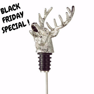 Black Friday Special ! Deer Head Wine Pourer & Aerator