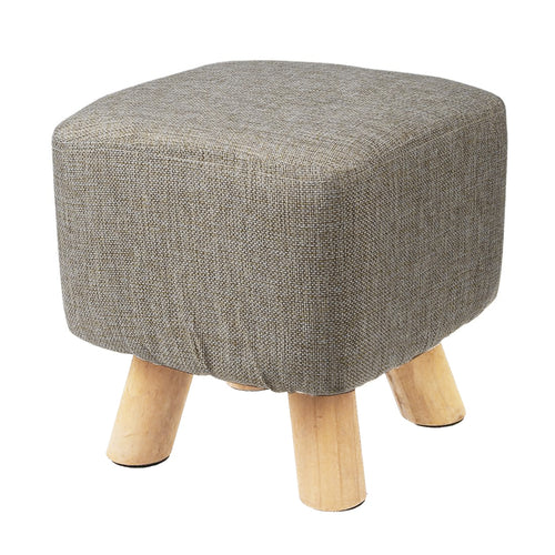 Luxury Upholstered Footstool Pouffe