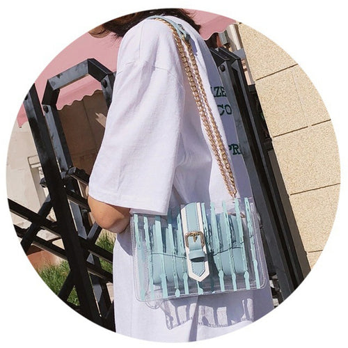 Transparent Women Bag