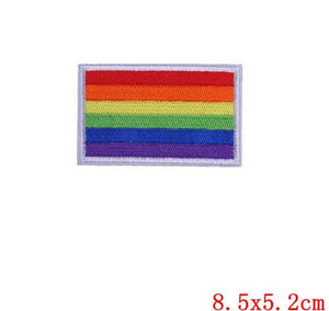 Pride - Iron On Patches - DIY Embroidered Patch LGBT
