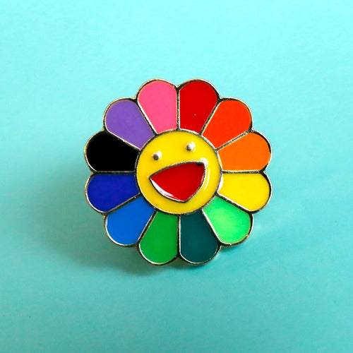 Rainbow - Metal Badge Rozet - LGBT & Pride - Pin Brooch