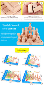 Wooden Blocks Kit - Montessori