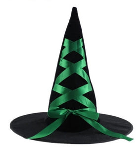 Witch / Wizard Colourfull Ribbon Hat - Halloween Party Accessories
