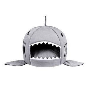Soft Shark Sleeping Bed For Cat-Dog