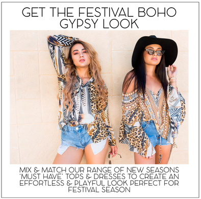 GET THAT BOHO COACHELLA FESTIVAL GYPSY LOOK