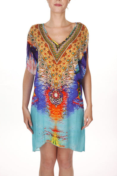 ARUBA -  Kaftan Tunic Top (Longer Style) - TheSwankStore - 1
