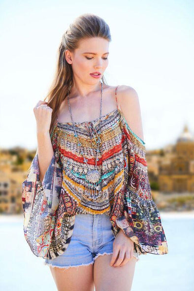 ALICANTE COLLECTION - GYPSY TUNIC TOP