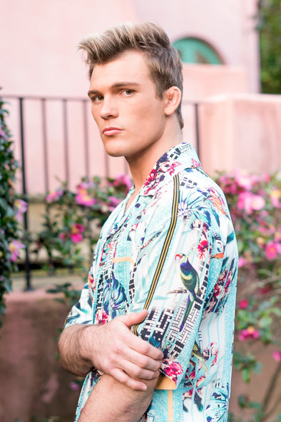 MENS - BIRDCAGE COLLECTION - CUBAN SHIRT