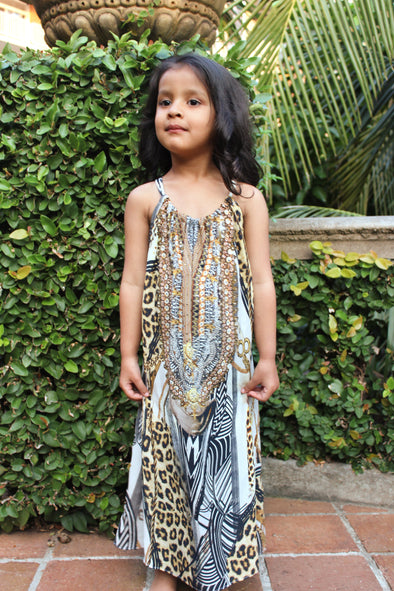THE BELLAGIO COLLECTION - LITTLE GIRLS' MAXI DRESS