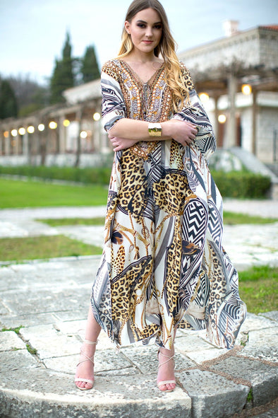 Swank Store Long Kaftan Bellagio Collection