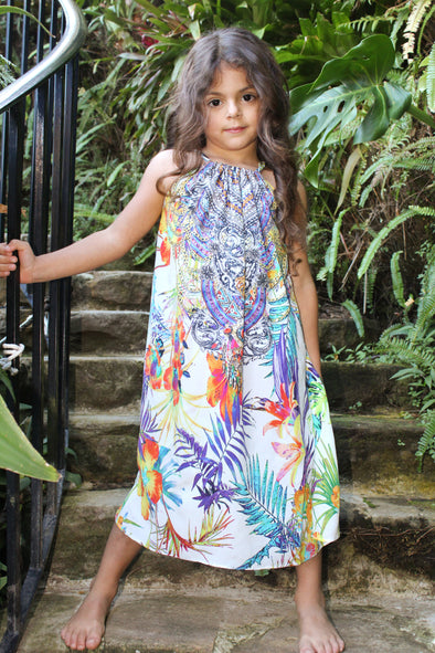 ELYSIAN COLLECTION  - LITTLE GIRLS' MAXI DRESS