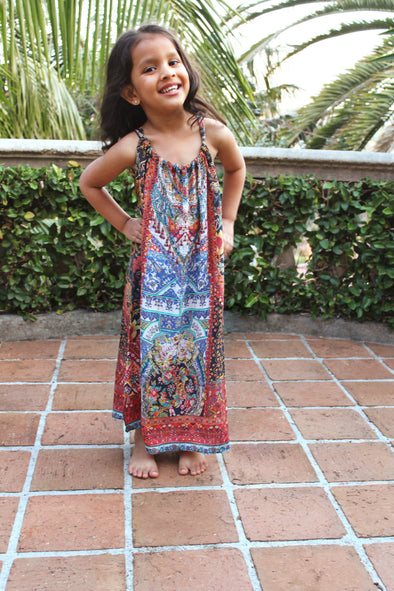 SEVILLIA COLLECTION  - LITTLE GIRLS' MAXI DRESS