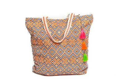 HANDBAGS - ORANGENSAFT BEACHBAG