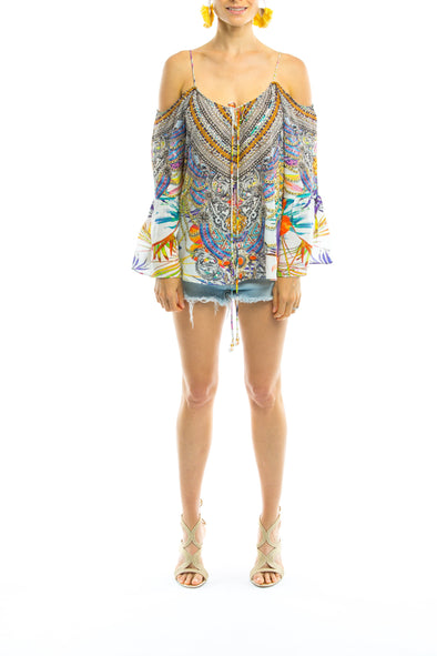ELYSIAN COLLECTION - GYPSY TUNIC TOP