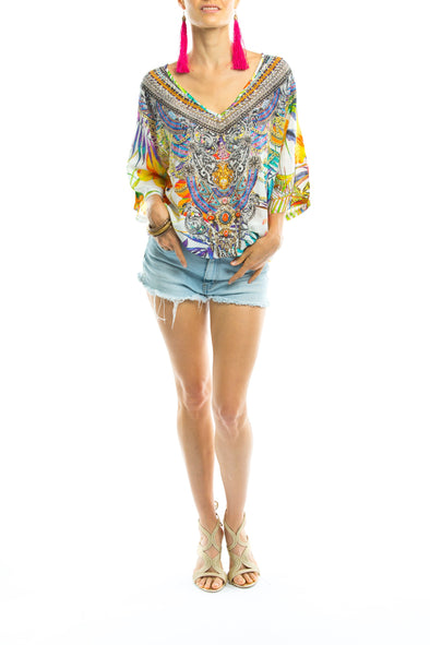 ELYSIAN COLLECTION - Kaftan Top (Shorter Style)