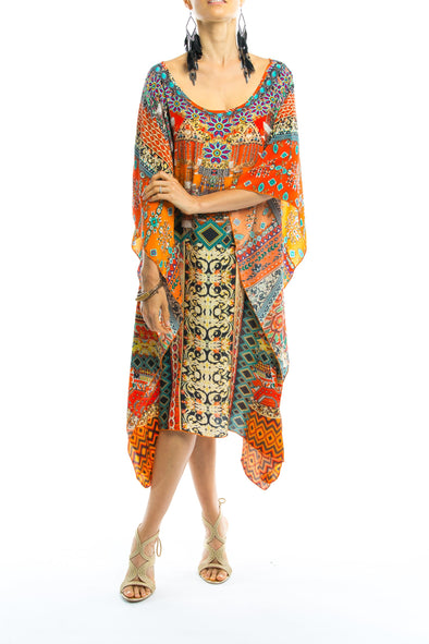 NEGRONI COLLECTION - Short Kaftan