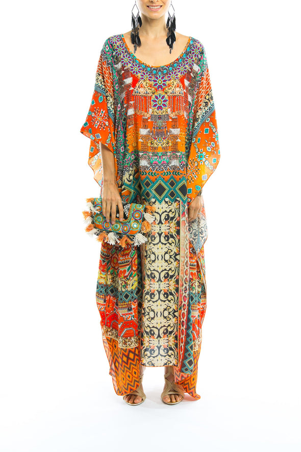 NEGRONI COLLECTION - LONG KAFTAN