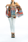 SEVILLIA COLLECTION - GYPSY TUNIC TOP
